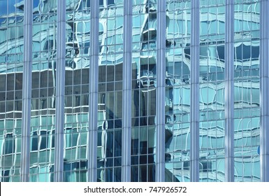 Glass Office Windows Abstract