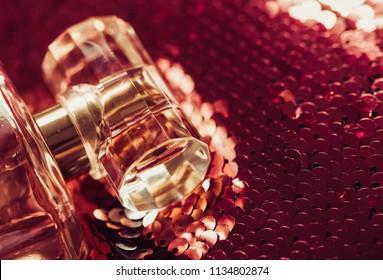 Glass perfume bottles based oils