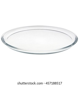 glass plate isolated