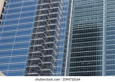 Glass Shrouded Building