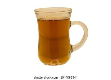 A glass of Turkish Tea