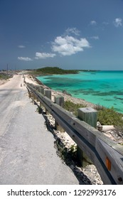 Glass Window Bridge, North Eleuthera Island, Bahamas.