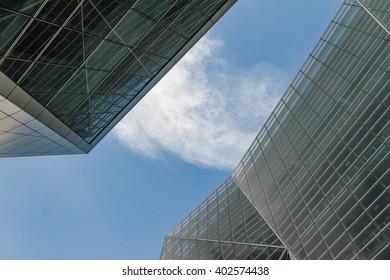 Glass Window Skin in Architecture