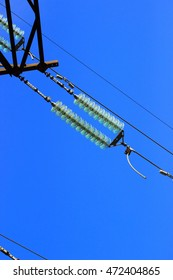 the glass-ceramic transition element insulating high voltage power lines