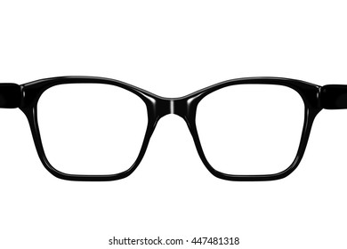 glasses, 3d-illustration