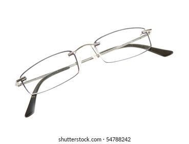 Glasses isolate on white