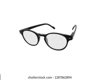 Glasses isolated on white background. Clipping Path