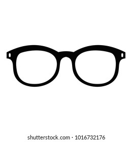 Glasses for myopic icon. Simple illustration of glasses for myopic  icon for web