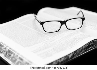 Glasses on the Talmud. Background Torah study