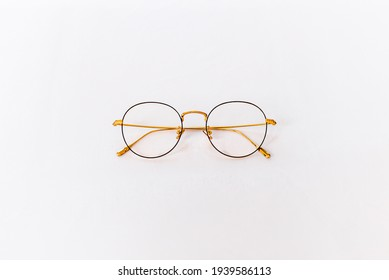 glasses reading And daily use ,eyeglass,isolated