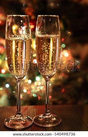 Glasses Wine Glasses Wine On Background Stockfoto Jetzt Bearbeiten
