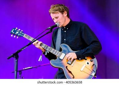 Glastonbury, Somerset, UK - June 27, 2015 - Ben Howard playing Glastonbury Festival's Other Stage