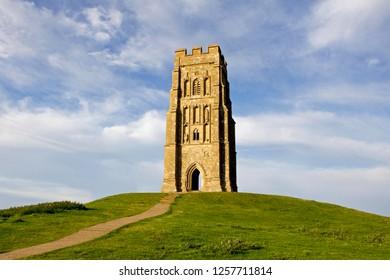 Glastonbury Tor. England