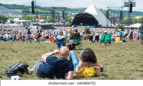 Glastonbury/UNITED KINGDOM-06/05/2019 photo from Glastonbury Festival in Glastonbury