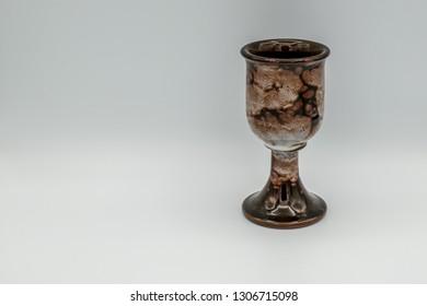 Glazed Pottery goblet