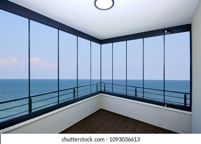 Glazing Balcony Window with Sea View