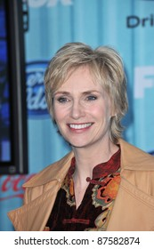 """Glee"" star Jane Lynch at the American Idol Final 13 Party at Area Nightclub, West Hollywood. March 5, 2009  Los Angeles, CA Picture: Paul Smith / Featureflash"