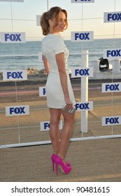 """""""Glee"""" star Jayma Mays at the Fox TV Summer 2011 All-Star Party at Gladstones Restaurant, Malibu. August 5, 2011  Malibu, CA Picture: Paul Smith / Featureflash"""