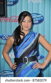 """""""Glee"""" star Jenna Ushkowitz at the American Idol Final 13 Party at Area Nightclub, West Hollywood. March 5, 2009  Los Angeles, CA Picture: Paul Smith / Featureflash"""