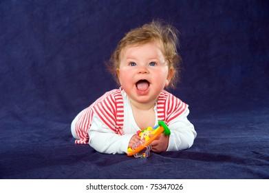 gleefully baby