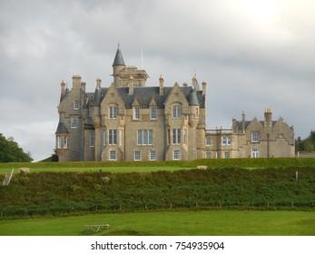 Glegorm Castle view