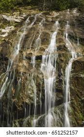 Glen Burney Trail in Blowing Rock, North Carolina
