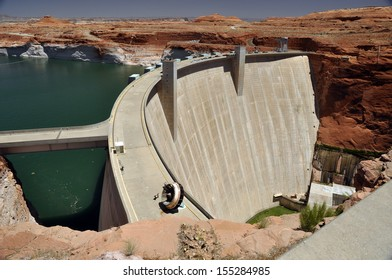 Glen Canyon Dam on the Colorado river.