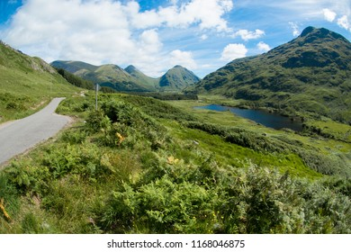 glen coe is a glen of volcanic origins, in the highlands of scotland united kingdom europe
