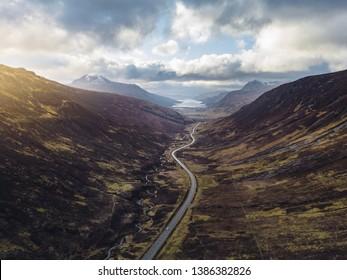 glen docherty scotland nc500 road