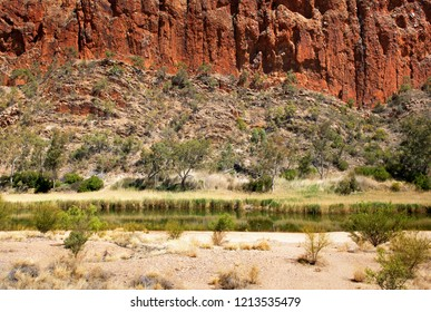 Glen Helen Gorge, MacDonnell Ranges, Northern Territory, Australia