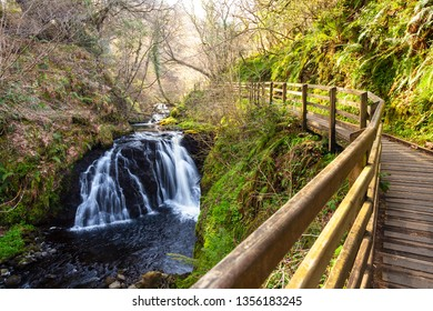 Glenariff Country Park. Glenariff is one of the nine Glens of Antrim and known as the Queen of the Glens