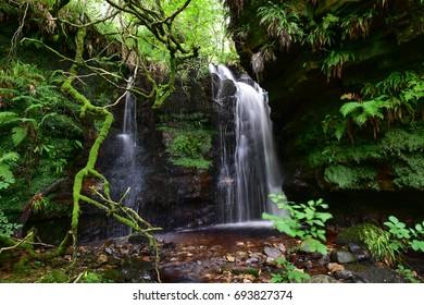 Glenashdale Falls, Whiting Bay, Arran Island, Scotland