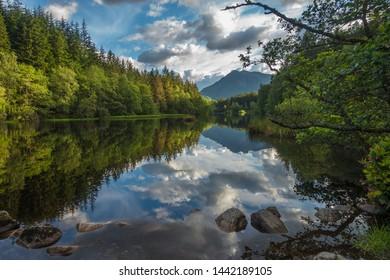 Glencoe Lochan Mountain Walk, Glencoe, Scotland.