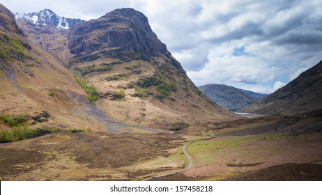 Glencoe valley, Scotland. The filming location of Skyfall and Harry Potter movies.