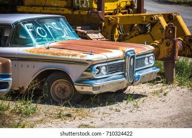 GLENDALE, UT: August 2016 - 1959 Edsel Ranger in Glendale, UT