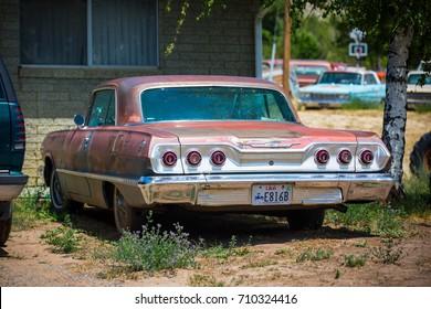 GLENDALE, UT: August 2016 - 1963 Chevrolet Impala in Glendale UT