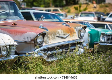 GLENDALE, UT: August 2016 - Old Chevrolet  in Glendale UT