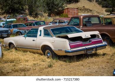 GLENDALE, UT: August 2016 - Seventh generation Ford Thunderbird in Glendale UT