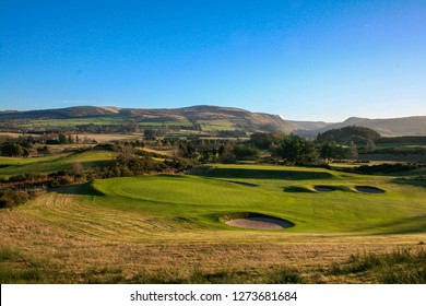 Gleneagles Golf Course on Sunny Day