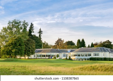 GLENEAGLES, SCOTLAND - OCTOBER 03, 2016: The Dormy Golf Clubhouse Bar, Grill, Restaurant at Gleneagles Hotel