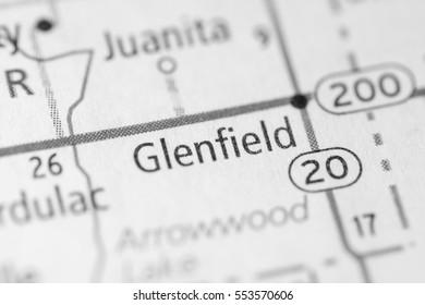 Glenfield. North Dakota. USA