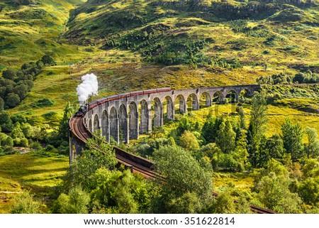 Glenfinnan Railway Viaduct in