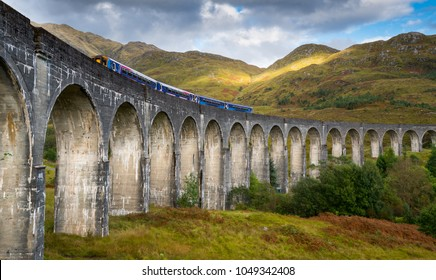The Glenfinnan Viaduct is a railway viaduct on the West Highland
