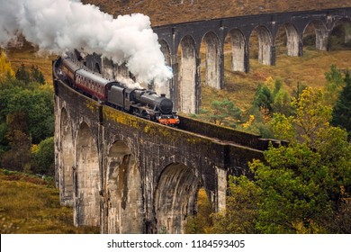 The Glenfinnan Viaduct is a railway viaduct on the West Highland Line in Glenfinnan, Inverness-shire, Scotland.