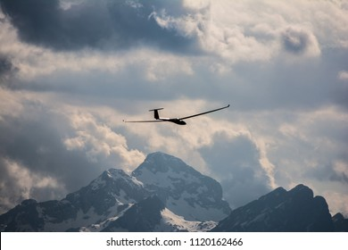 A glider - sailplane