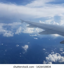 A glimpse flight bound to Cebu from Davao