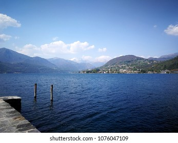 Glimpse of Lake Orta