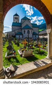 Glimpses of the ancient Dolomite town of San Candido.