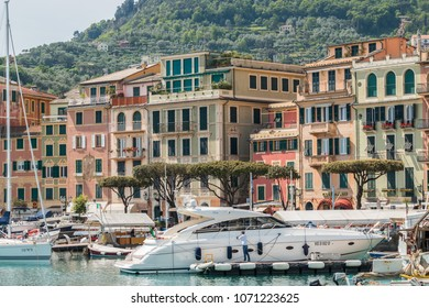 Glimpses of Santa Margherita Ligure, Gulf of Tigullio, Ligurian Sea, Genoa, Liguria, Italy