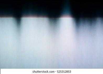 Glitch TV Screen